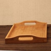 Japanese Restaurant & Hotel Supplies High Quality Wooden Tea Serving Tray Jananese Style Dry Fruit Plate Dish