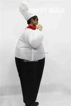 HI chef Inflatable Costume, Inflatable fat Costume