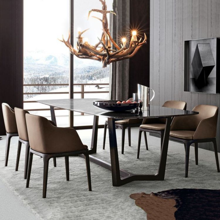 Nordic Ash Wood Dining Chair