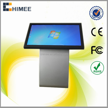 HQ55CSK-1 55 inch Touchscreen lcd monitor information desk self-service movie ticket kiosk business center kiosk