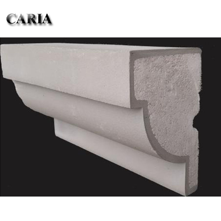 Light Quality Exterior EPS Polystyrene Moulding Foam Building Cornices