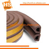 EPDM self adhesive backed aluminum door window rubber seal strips