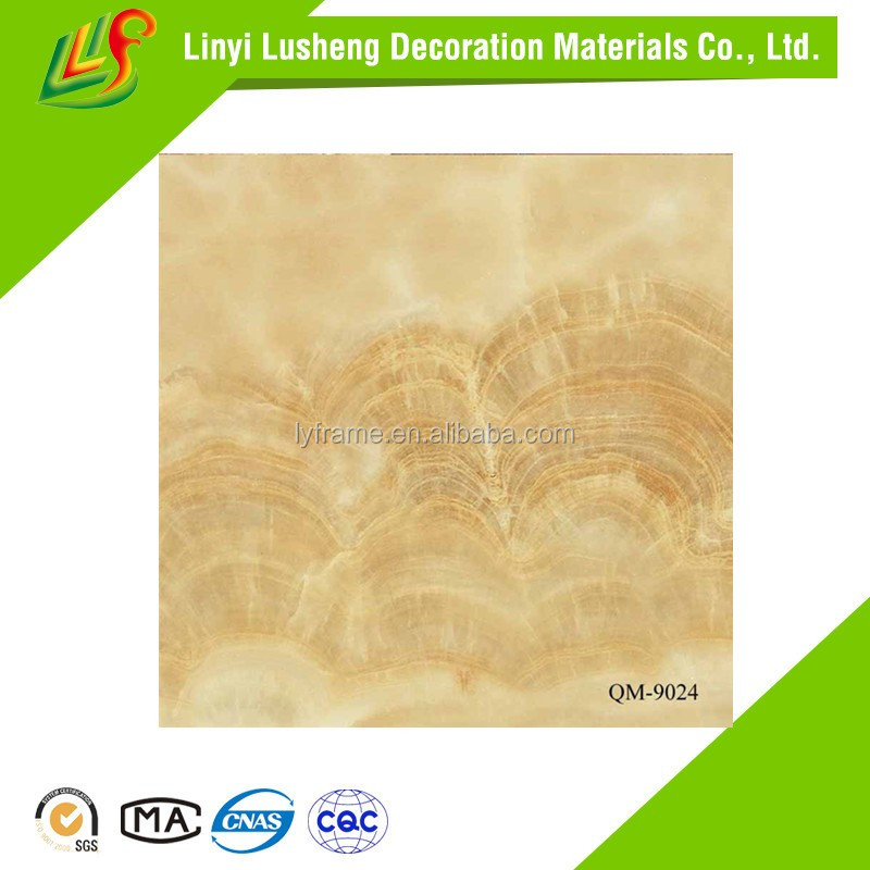 cheap price pvc siding marble stone sheet/pvc wall panel/indoor wall panel