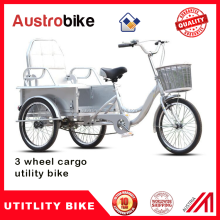 pedal electric cargo bike /cargo tricycle hot selling 500W 1000W tricycle