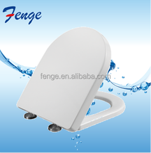 Small Size D Shape Bathroom Soft Close PP Colored Toilet Seat