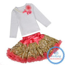hot sell halloween costumes baby clothes with pettiskirt baby clothing