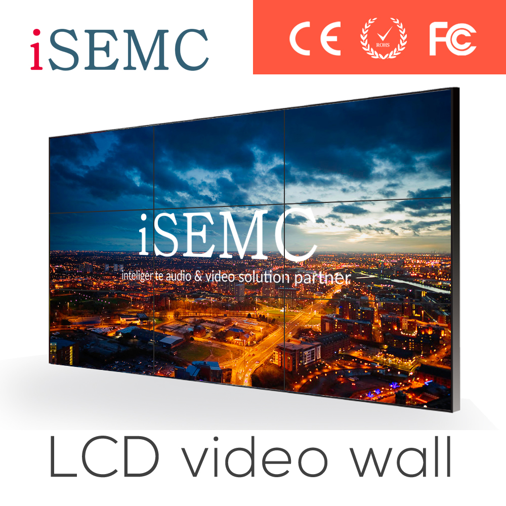 Video wall List 2015 New 40 inch LCD Video Wall unit with super narrow bezel 4K resolution