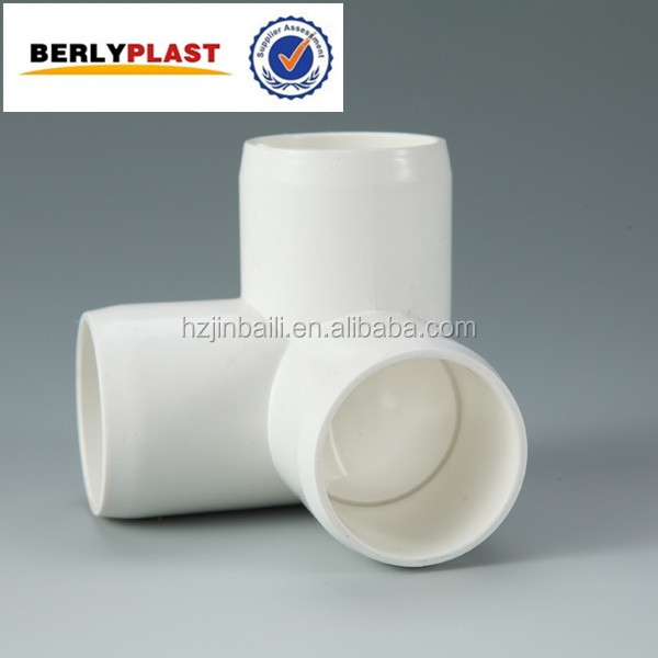 3 Way Elbow Pipe Fittings PVC Elbow For Water