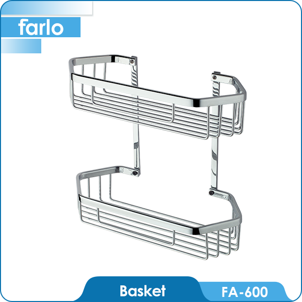 FARLO Hot Sale Shower Organizer / Shower Caddy / Stainless Steel Shower Rack