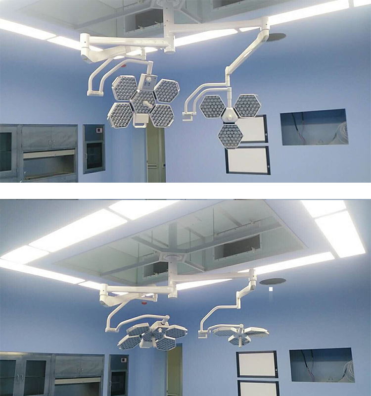 Dual Head Surgical Lamps Hospital Equipment Medical
