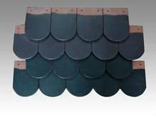 flat fish scale roof tile