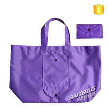 2016 new foldable polyester bag in polyester material ,high quality folding shopping polyester bag ,Recycle Polyester Bag