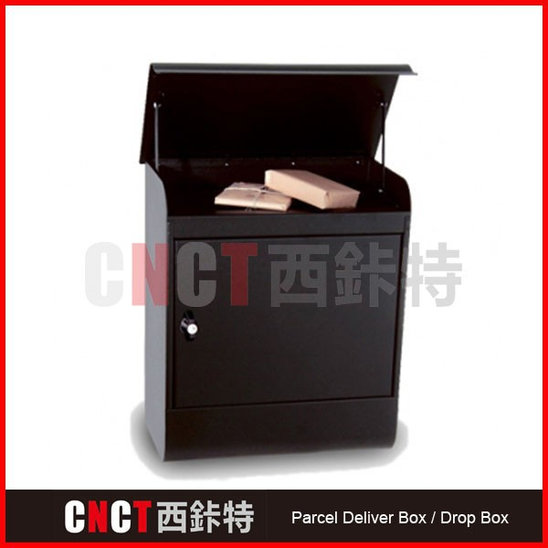 galvanized steel antitheft mounted parcel locker for mail and parcel storage