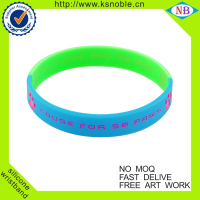 popular Rubber bracelet Custom event rubber wristbands