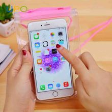 [UPO] Barrier-free thickened transparent waterproof phone bag, drifting cell phone waterproof cover