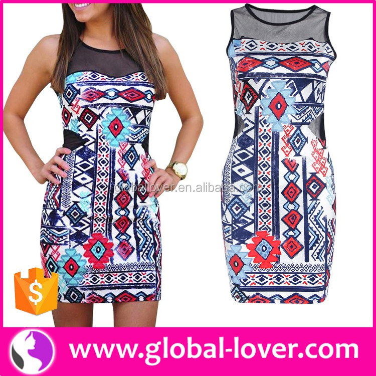 Women stylish casual one piece dress in floral print indian dress online shopping