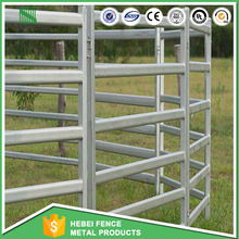 Galvanized livestock cattle corral metal fence panel