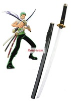 Rose-team Fantasia Anime Made One Piece Roronoa Zoro Three Sword Style Cosplay Wooden Weapons