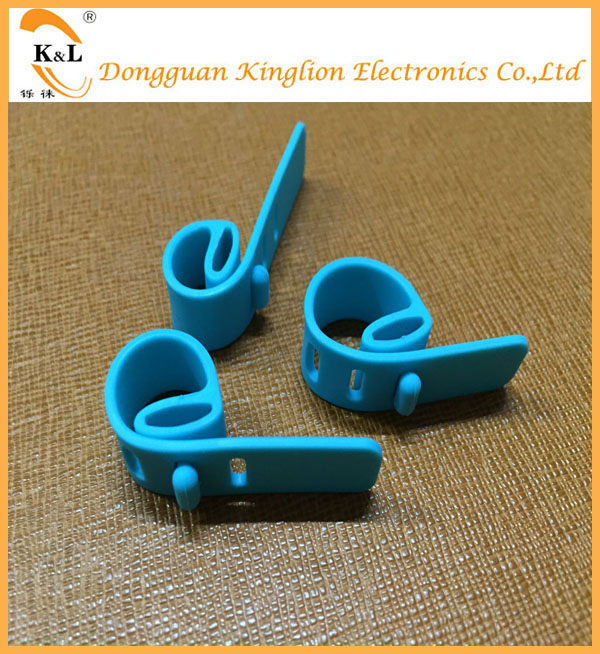 Adjustable Self-locking Removable Soft Silicone Rubber Cable Ties