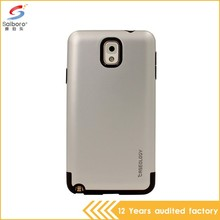 Guangzhou wholesale unique design tpu+pc phone cases for samsung note 3