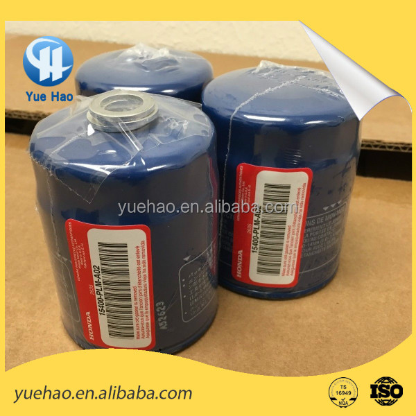 Supply Genuine New Honda oil filter for Civic Accord 15400-PLM-A02