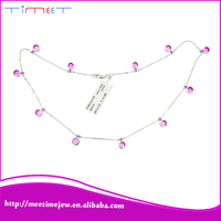 Fashion Multicolor fashion pendant necklace