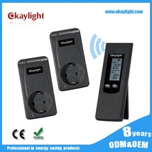 Electronic display thermostat RF Wireless Sensor room Thermostat