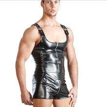 plus size leather gay men costumes