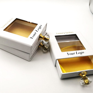 New Design Custom Logo Eyelashes Packaging Box