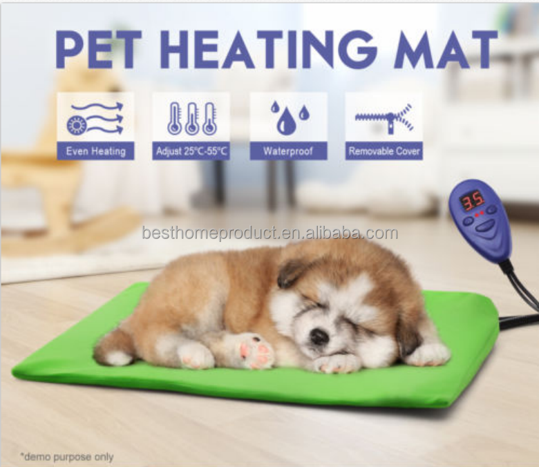 New Model Far Infrared Cat & Dog Heating Pad Pet Heat Therapy Bedding