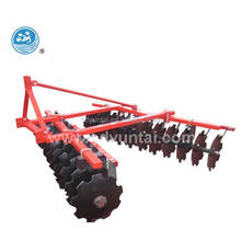 wheeled tractor trailed combined soil working machine