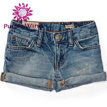 hot sale blue denim short kids boy jeans pants