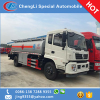 2017 New Dongfeng 15000 litres oil/ fuel tanker truck for sale in Peru
