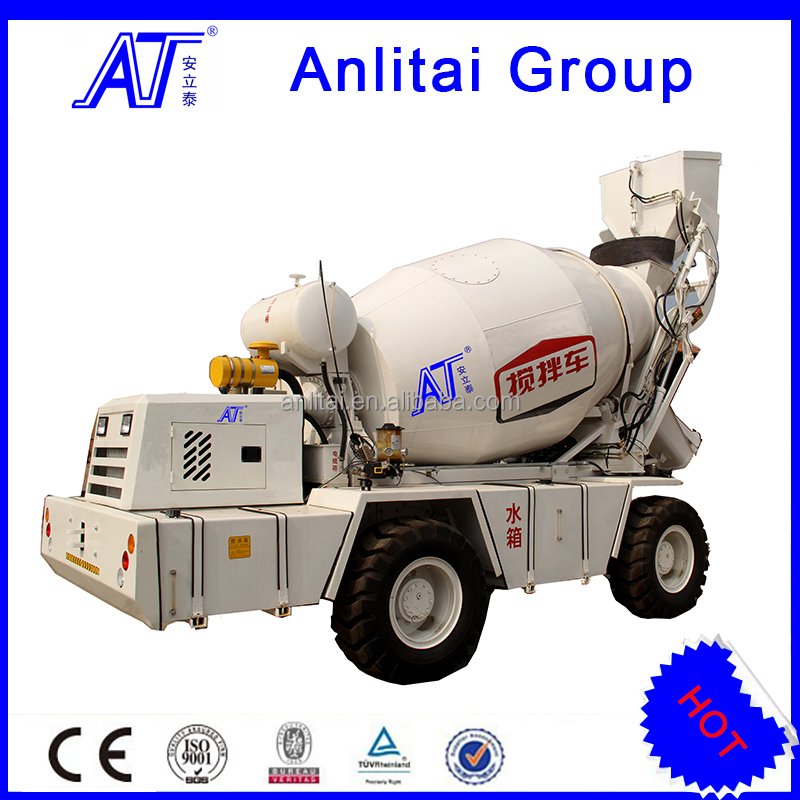 ATJB-12C New Mounted Mobile Self Loading Concrete Mixer Truck Price