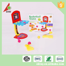 Hot selling kid sport play toy plastic small basketball tactic board