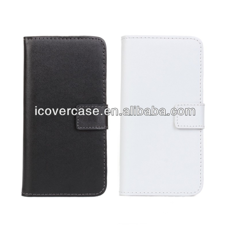 High Quality For HTC M4 Leather Case ,For HTC One Mini M4 Leather Wallet Stand Case Cover