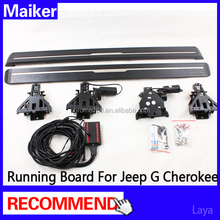 Electric side step board forJeep Grand Cherokee 2011+ power-driven side step board running board from maiker