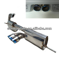 exhaust,muffler fits for smart brabus style