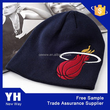 2015 Top fashion high quality children knitted acrylic boy hat for winter