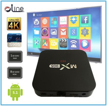 Low price 1GB DDR3 RAM Android 5.1 set top box digital tv cable receiver mx905 Android stb