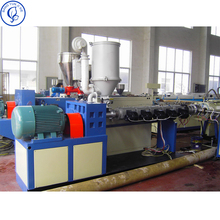 Bangyun Plastic machine Conical twin screw extruder For PVC Pipe and profile extrusion