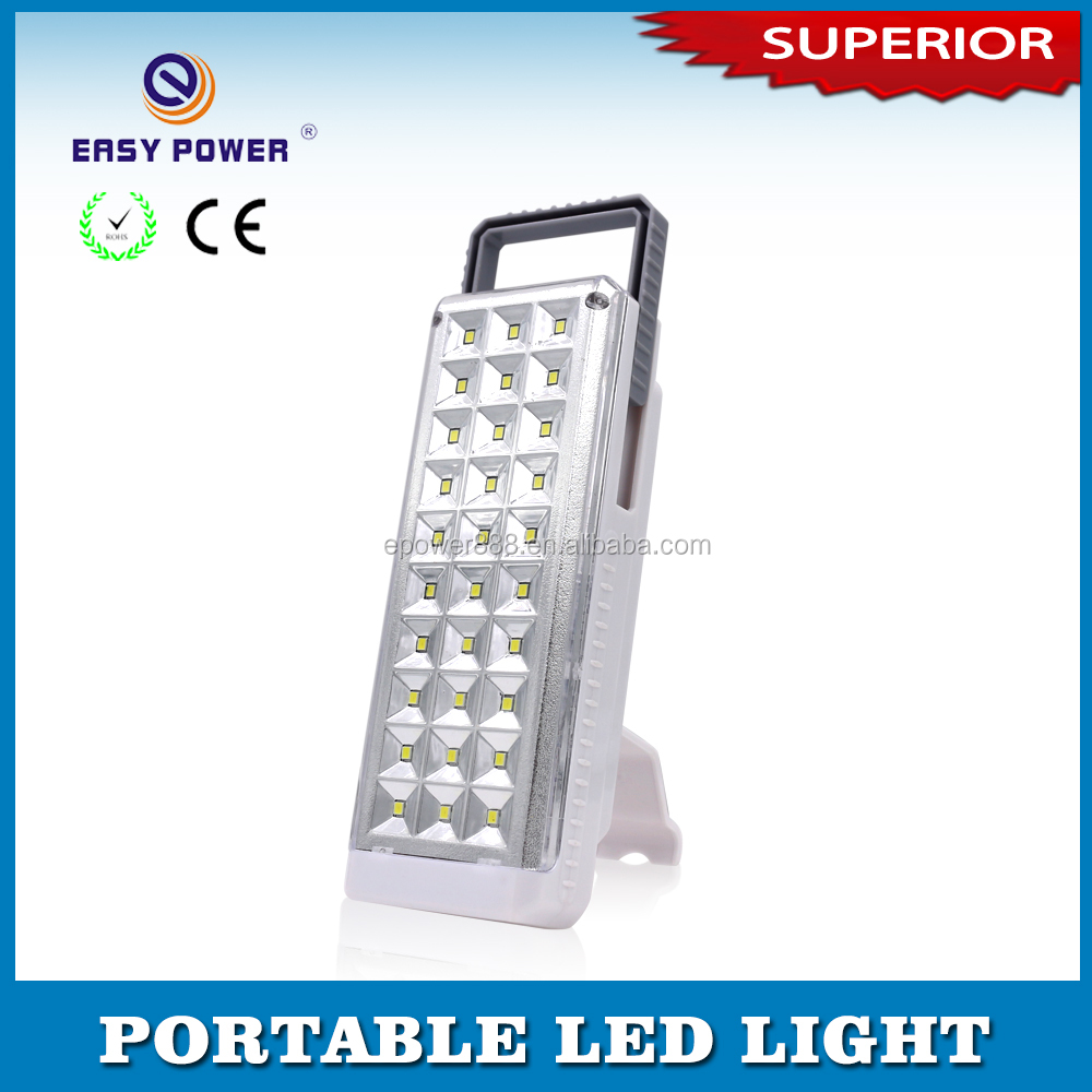 Energy saving outdoor solar power rechargeable emergency led lamp for car