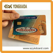 Smart Blank Contact SLE5528 IC Card For Hotel Key