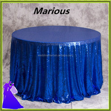 70'',90',108'',120'',132''R round glitter elegant sequin Table cloths for wedding banquet decoration