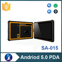 courier scanner with RFID reader handheld android pda with barcode scanner handheld