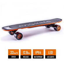 2018 enskate New Generation woboard Certified Motorized Electric Skateboard with Wireless LED Remote
