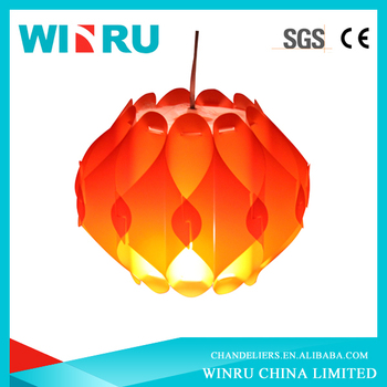 wholesale assemble orange design IQ puzzle light/led ceiling light design/led false ceiling lights