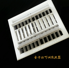 ABS Plastic diffuser for all direction air outlet Grille louvers