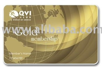 Gold Vacation Club Membership card
