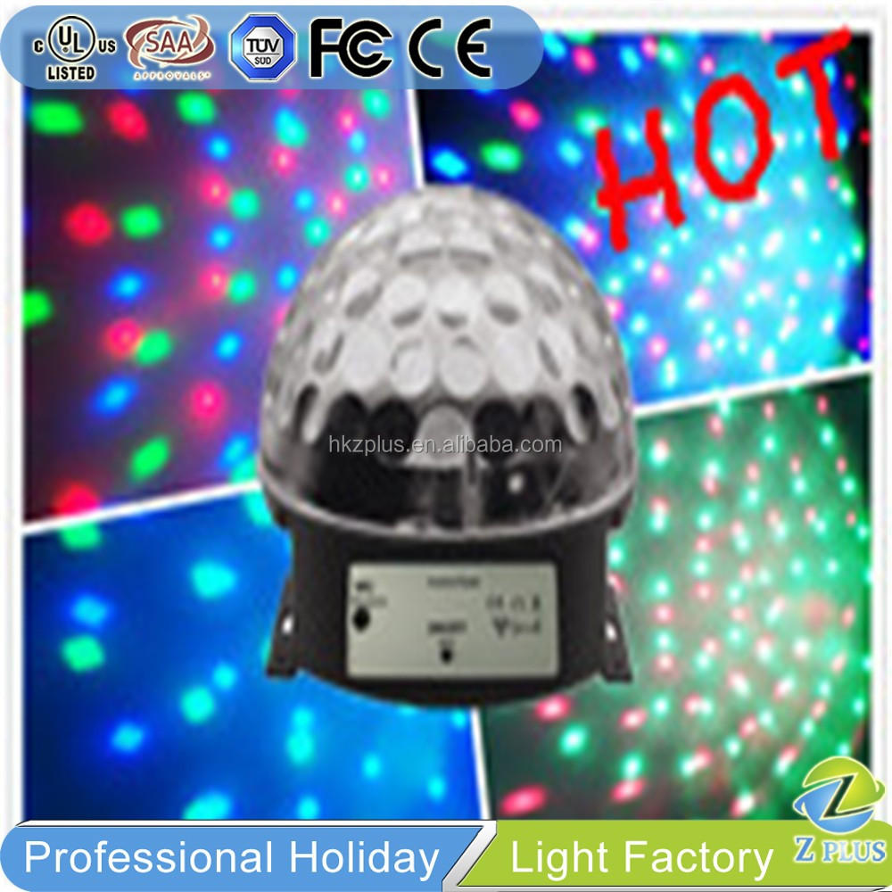 Stage Shining Crystal LED disco ball light 12v